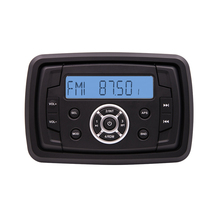 Square Tuner Waterproof Utility Radio with Bluetooth usb