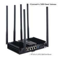 Afoundry EW1200 High Power High Speed DualBand Super Strong Signal Through Wall enterprise-Level Design Wifi Router