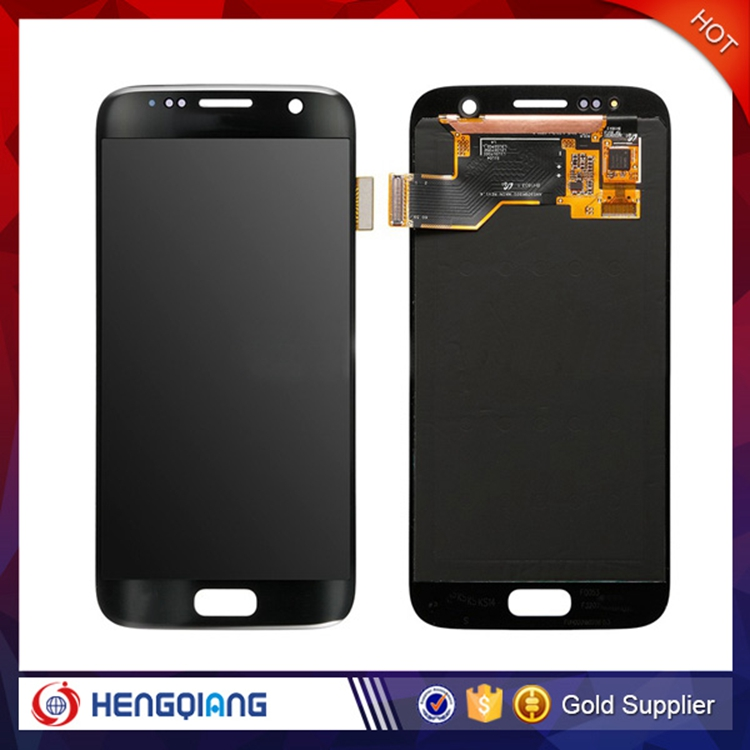 Black New LCD Screen Touch Digitizer Assembly For Samsung Galaxy S7 G930T