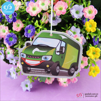 Wholesale custom air freshener,hanging car air freshener