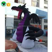 13ft Purple Giant Dragon Inflatable Animal Customized Inflatable Dragon For Sale A1777