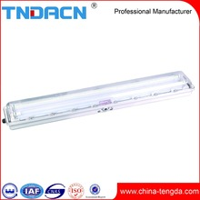 Energy Saving Tube T8 Waterproof Fluorescent Light Fixtures IP65 Explosion Proof Marine Fluorescent Light