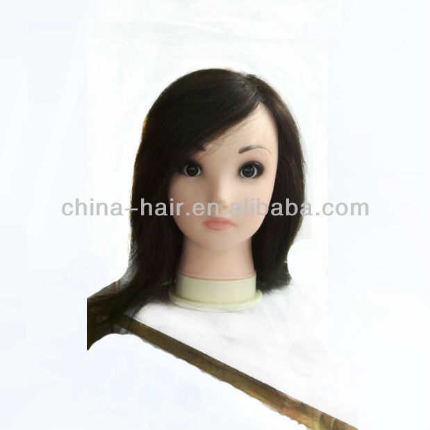 Training mannequin head hair Salon Training cut wig lesson wig hairdressing academy State Board Exams Competition manikin head