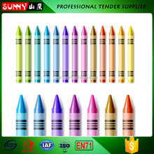 Factory direct sales stationery kids mix color crayon