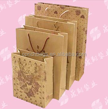 Top Quality paper bag hs code with length handle