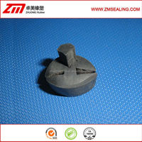 Auto Glass Rubber Seal with 3 holes