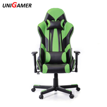 New racing leather chair foot rest luxury racing gaming chair faux luxury pu sport home
