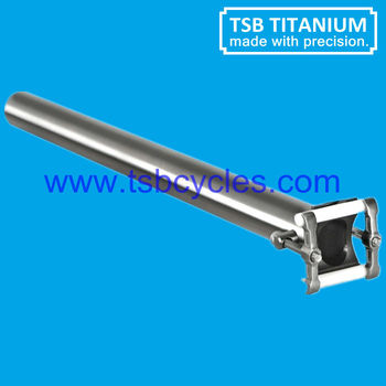 high light titanium alloy bike seat post TSB-SP04