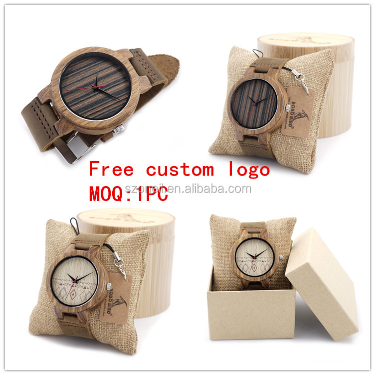Made <strong>n</strong> China Causal Wooden Watches Hand Made Japan Movt Quartz Bamboo Wood Watch
