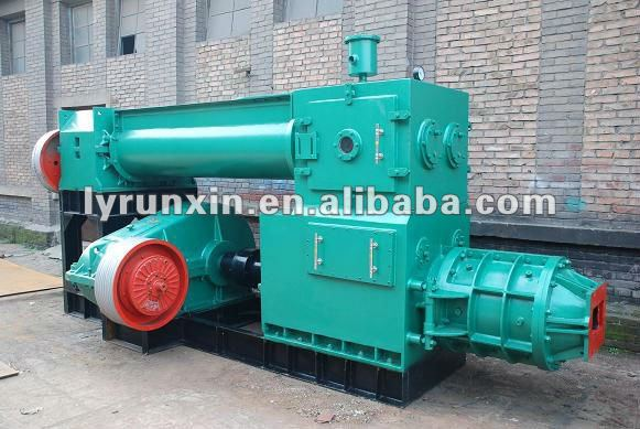 Price concrete block machine-clay brick vacuum extruder