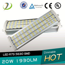 Samsung 5630smd chip R7S Lamp R7S portalamparas Dimmable R7S CRI>80 isolate led driver