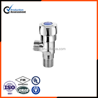 Hot sell chromed brass angle ball valve with handle made in china