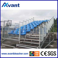 Aneasy demountable &scaffold design sporting stadium stand indoor bleacher seating chair