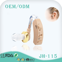 CE & FDA certificate high quality BTE hearing aids price