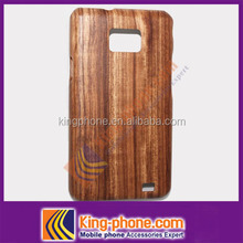 Wooden cell phone case for Samsung I9100