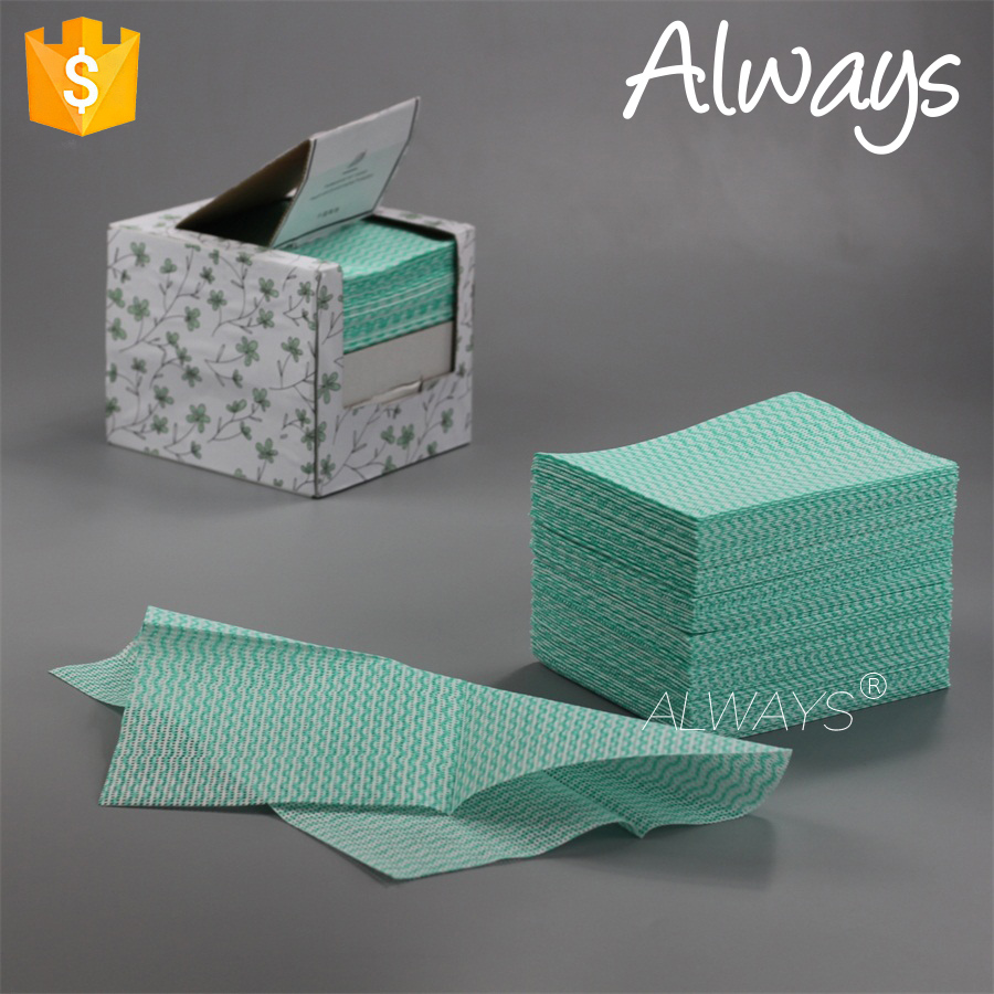 Japanese style disposable wave printing household wipes Various Rags Cleaning