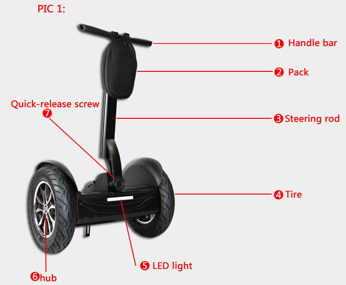 leadway 84V li-lion battery Accept you any logo one wheel scooter(W9+ 61)