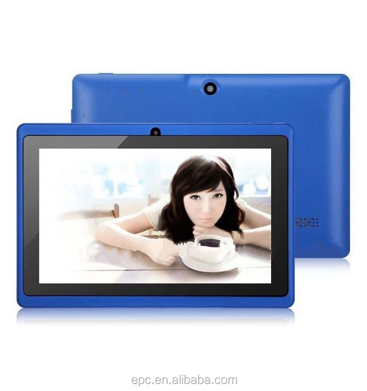 "7"" Inch Android Tablet 8GB Quad Core 4.4 Dual Camera Wifi Tablet"