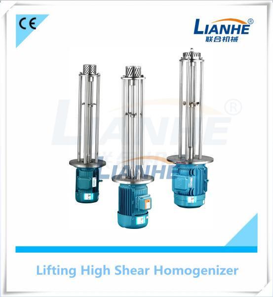 Stainless Homogenizer Electric Pneumatic Disperser Liquid Chemical Mixer