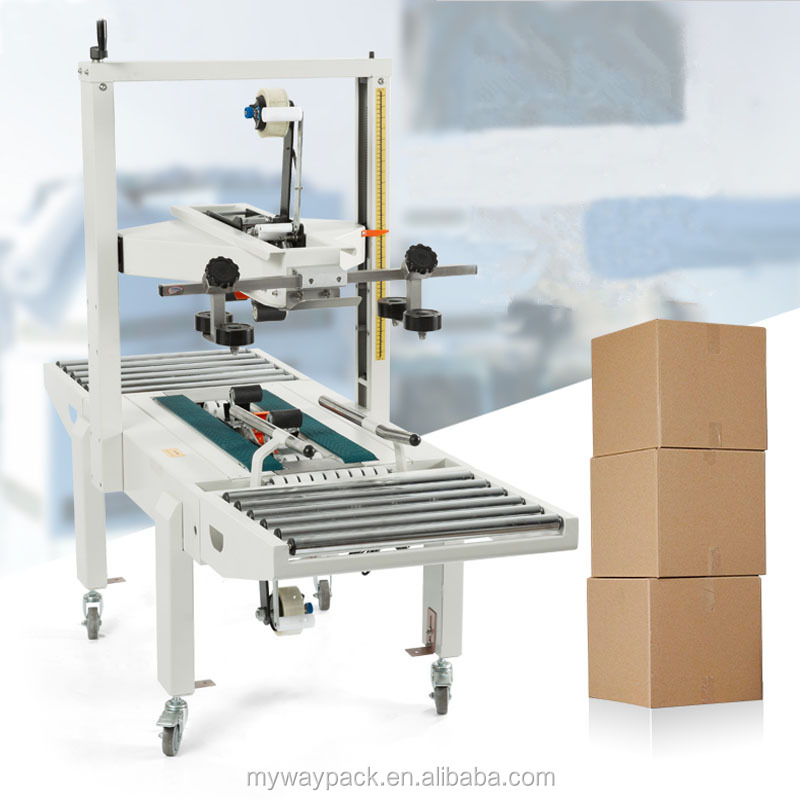Carton box sealing machine / carton box packing machine / carton box gluing machine