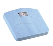 125kg plastic mechanical bathroom scale for personal scale