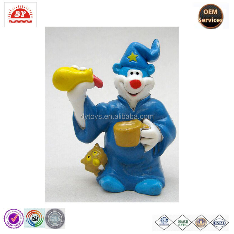 Custom Cheap Small Plastic Cartoon Clown Figures Toys