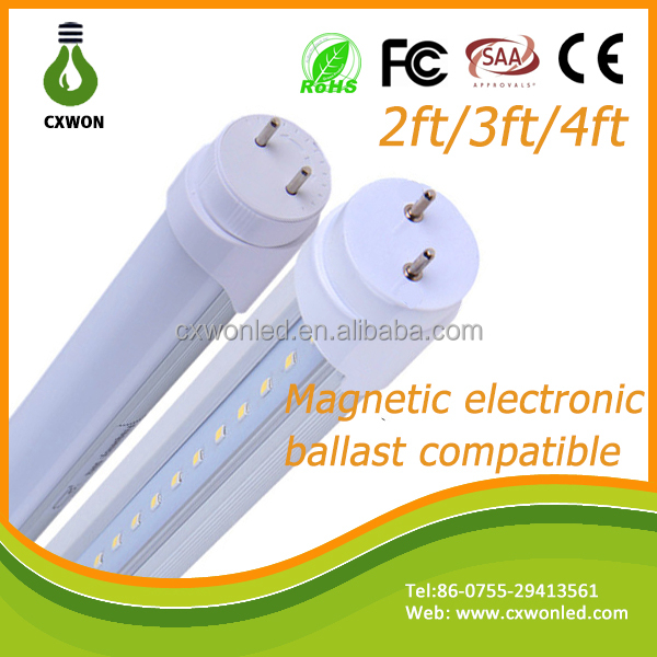 T8 TUBE LED Light g13 Fluorescent tube replacement electronic ballast compatible t8 led tube bulb