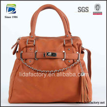 Customized durable top brand shoulder bag 2012 collection