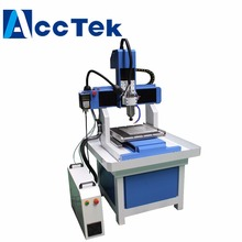 3 Axis Model CNC Router for Signs/Lables Making with Water Tank AKM4040