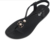 Lightweight pu injection women summer footwear  flip flop sandals jelly women sandals