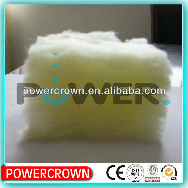 50mm thick Glass Wool Roofing insulation/ Outdoor Acoustic Wall Foam Panel