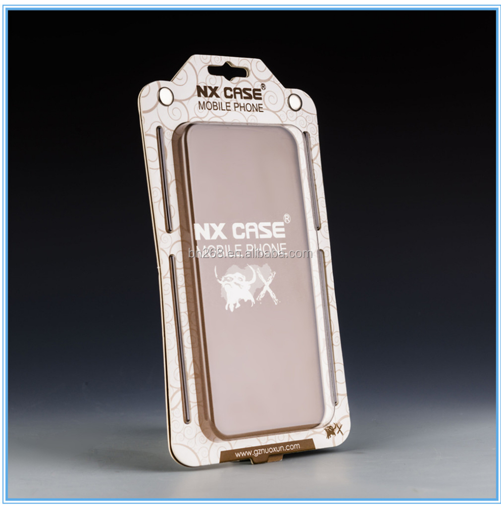 Clamshell Blister packaging for mobile phone case card blister pack