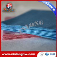 Spunlace nonwoven cleaning cloth(woodpulp+PET/PP)-A