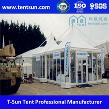 Good looking elegant metal garden gazebo with curtain