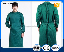 Hospital Cotton Uniform Reusable Surgical Gown