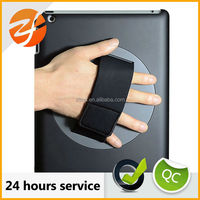 hand strap rotating case for ipad 4,for ipad 3 rotate cover