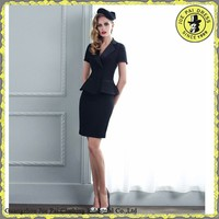 Trendy Sexy Two-piece Summer Formal Ladies Uniform Suit
