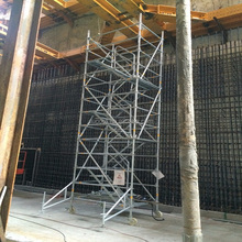 Mobile Scaffolding Construction Work Platform