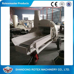 Straw Chaff cutter Straw crusher machine for cow / horse feeding