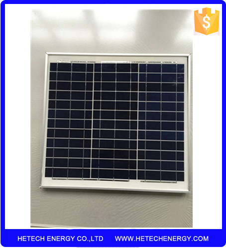 Small size high efficiency cheap 18v 30w polysilicon solar panel for sale