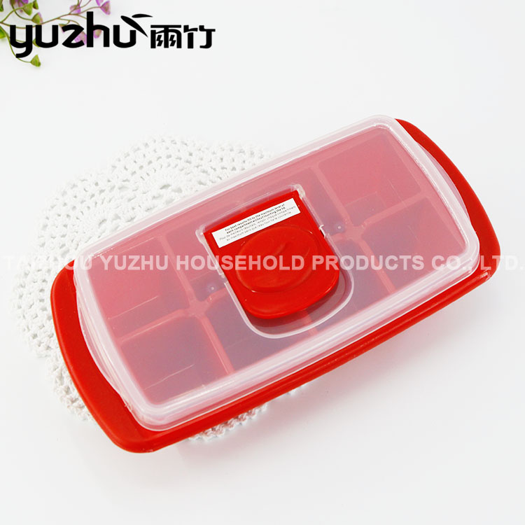 Newest Design Top Quality Plastic Cube Ice Trays