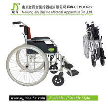 Manual wheelchair steel wheelchair kid wheelchair