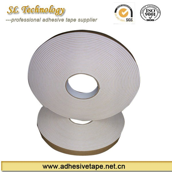 double sided eva adhesive foam tape with brown paper