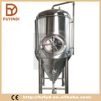 Beer Brewingt with Cooling Dimple Jacket