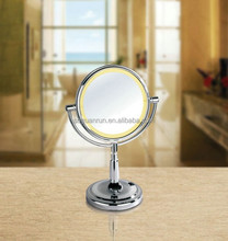 11x 12x 13x illuminated swivel make up magnifier mirror with light