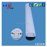 CE/REACH/ROHS approved t818w G13 led 4 feet ledxxx tube 8 fluorescent light cover