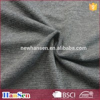Polyester rayon spandex brushed sports wear fabric