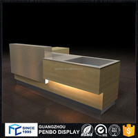 hot producting wooden night club restaurant bar counter design