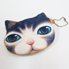 Promotional top selling fancy cat design coin purse