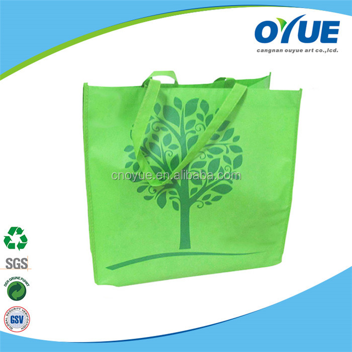 Hot style promotion non-woven trendy reusable shopping bags